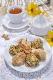 Traditional Italian Pastries Royalty Free Stock Photos