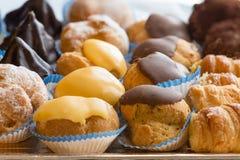 Traditional italian pastries Royalty Free Stock Photo