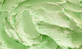 Traditional Italian pistachio ice-cream Stock Images