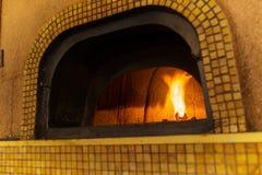 Traditional Italian pizza oven Stock Photography