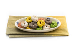 Traditional Italian snack from Puglia called Taralli stock photos
