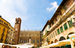Traditional Italian square Stock Photos