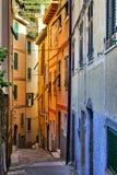 Traditional Italian street Royalty Free Stock Photo