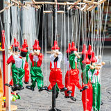 Traditional Italian toys. Stock Images