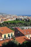 Traditional Italien tiled red roofs Royalty Free Stock Images