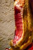 Traditional Jamon, Spanish meat. Stock Photo