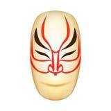 Traditional Japan Mask Kabuki Vector Royalty Free Stock Image