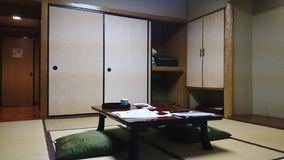 Traditional Japanese room. stock photography