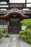 Traditional japanese architecture in gion kyoto japan Stock Photography