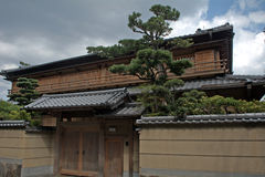 Traditional Japanese architecture, Kyoto, Japan Stock Photo