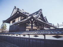 Traditional Japanese architecture Stock Images