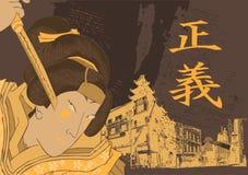 Traditional Japanese Art Royalty Free Stock Photos