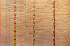 Traditional Japanese Blind Curtain Stock Photo