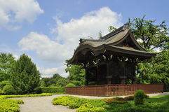 Traditional Japanese building. The Japanese Gateway or Chokushi-Mon, Kew Gardens, London Stock Photos