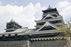 A traditional Japanese castle. Royalty Free Stock Image