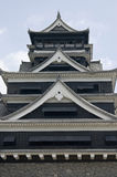 A traditional Japanese castle. Royalty Free Stock Photography