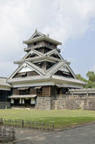 A traditional Japanese castle. Stock Photo