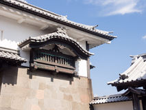 Traditional Japanese castle in Kanazawa. Traditional Japanese samurai castle in Kanazawa Stock Images