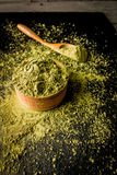 Traditional Japanese and Chinese tea matcha Royalty Free Stock Photo