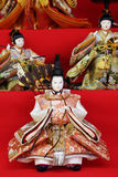 Traditional Japanese doll Stock Photography
