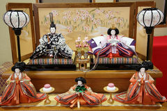 Traditional Japanese doll Stock Photo