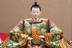 Traditional Japanese doll Royalty Free Stock Photos