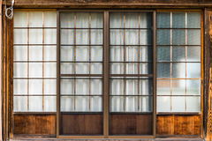 Traditional Japanese door Stock Images