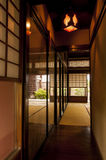 Traditional japanese edo period  house room at Kyoto Royalty Free Stock Photography