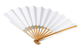 Traditional japanese fan Royalty Free Stock Image