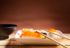 Traditional Japanese food Stock Photos