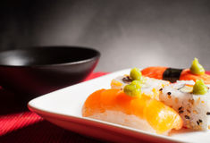 Traditional Japanese food Royalty Free Stock Photos