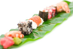 Traditional Japanese food Sushi. Stock Images