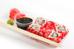 Traditional Japanese food Sushi Royalty Free Stock Photography