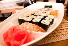 Traditional Japanese food Sushi. Stock Image