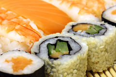 Traditional Japanese food Sushi Royalty Free Stock Image
