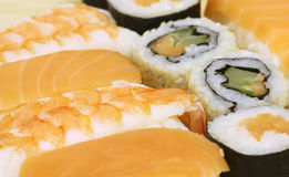 Traditional Japanese food Sushi Royalty Free Stock Photo