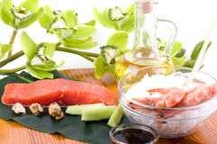 Traditional Japanese food Sushi Stock Photography