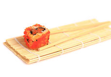 Traditional japanese food, Sushi Royalty Free Stock Photos