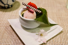 Traditional Japanese Food and Sweets Stock Images