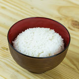 Traditional japanese food on wooden table Stock Photos