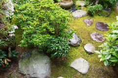 Traditional Japanese garden Stock Photography