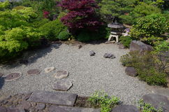 Traditional Japanese garden Stock Photo