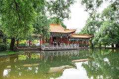 Traditional Japanese Garden Royalty Free Stock Image