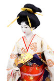 Traditional Japanese geisha doll Stock Photos