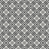 Traditional Japanese Hishi fabric texture with structure of repeating geometric shapes and lines Stock Photography
