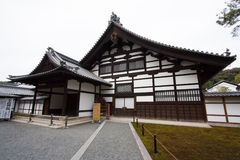Traditional Japanese house. In Kyoto stock photos