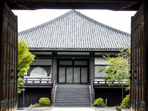 Traditional Japanese house Royalty Free Stock Photo