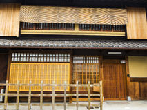 Traditional Japanese house Royalty Free Stock Photos