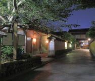 Traditional Japanese house Kanazawa Stock Photography