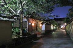 Traditional Japanese house Kanazawa Royalty Free Stock Photos